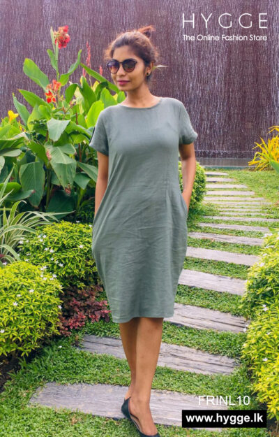 Casual Wear Linen Dress Sri Lanka