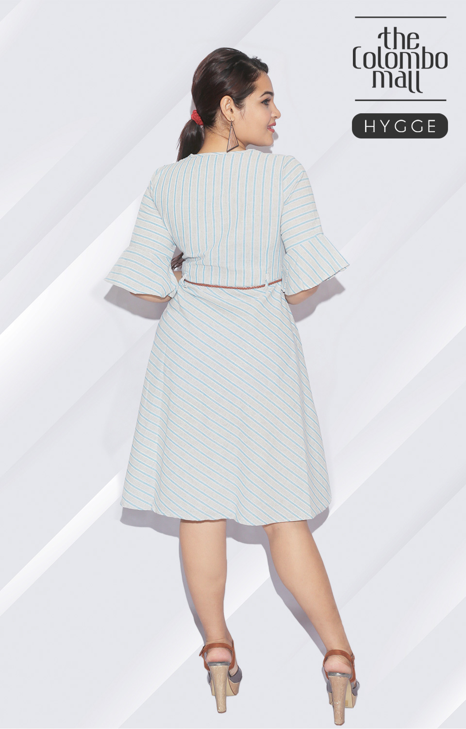 Middle Brown Less Short Frock