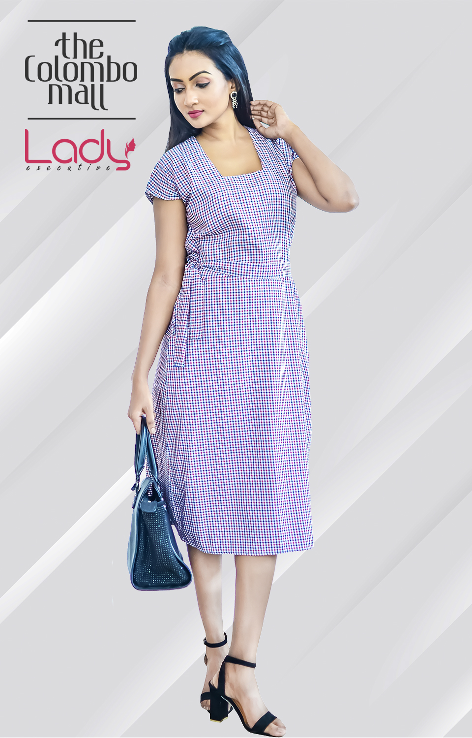 Sensational Office Wear Midi Dress Sri Lanka