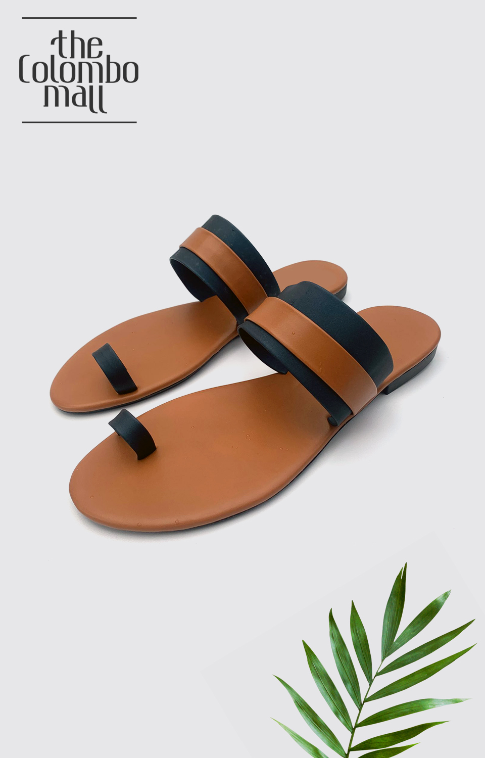Black and Brown Striped Ladies Shoes Sri Lanka