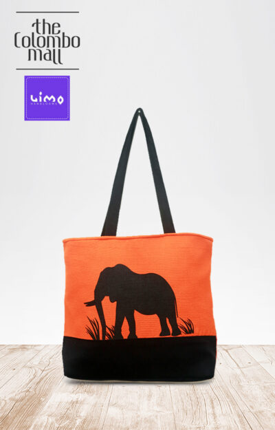 Elephant Two Tone Handbags Sri Lanka