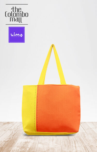 Orange Two Tone Handbags Sri Lanka