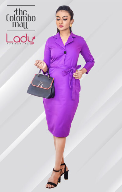 Dazzling Twill Office Wear Dress Sri Lanka