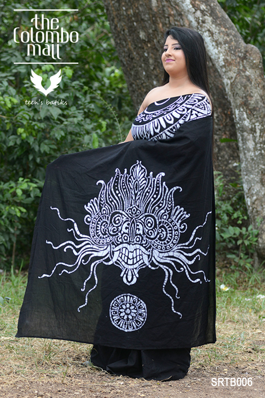 Super Voil Batik Saree Sri Lanka