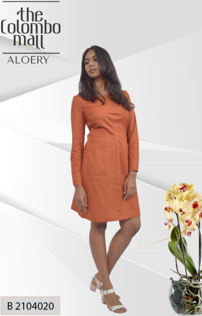 Formal Long Sleeve Panel Dress – Nelly